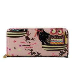 Lompakko, Owl Pink