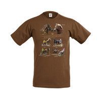 RAVIHEVOSET SUOMENHEVONEN T-paita/aikuisten