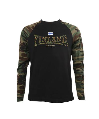 FINLAND CAMO Pitkähihainen T-paita/Aikuisten