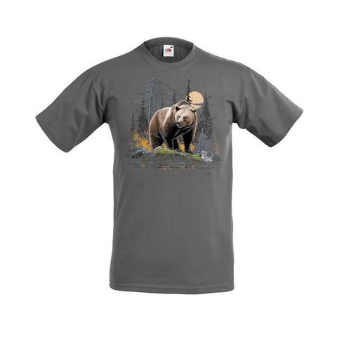 KARHU KIVELLÄ  T-paita/Aikuisten