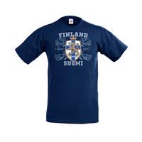 FINLAND LEIJONA  T-paita/Aikuisten