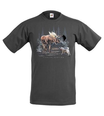 HIRVIMETSÄLLÄ  T-paita/Aikuisten