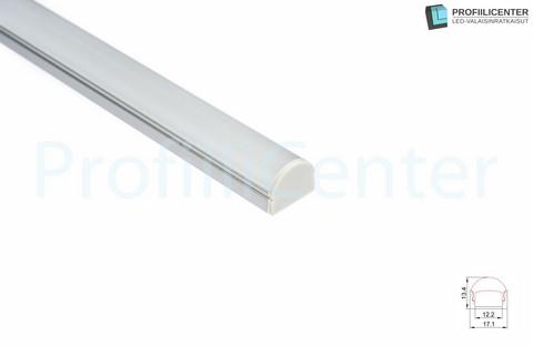 LED-alumiiniprofiili ALU08, 1 m