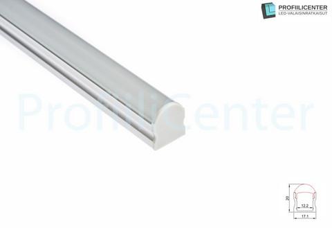LED-alumiiniprofiili ALU10, 1 m