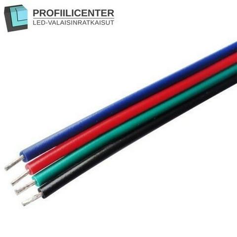 LED-RGB-virtajohto, 1 m