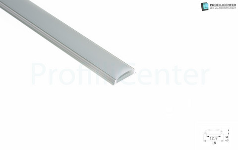 LED-alumiiniprofiili ALU012, 2 m