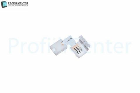 LED-liitin 10 mm, kulmapala (RGB)