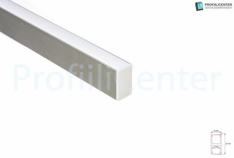 LED-alumiiniprofiili ALU014, 1 m