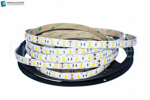 LED-nauha 5m (14.4 W/m) neutr.valk., 12V IP65