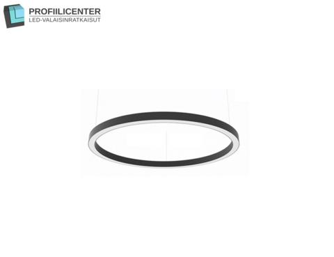 LED Circle -rengasvalaisin, 66 cm