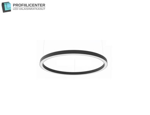 LED Circle -rengasvalaisin, 90 cm