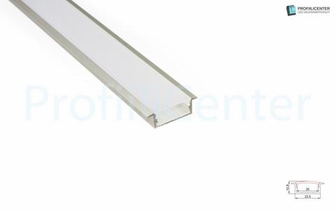 LED-alumiiniprofiili ALU016, 1 m