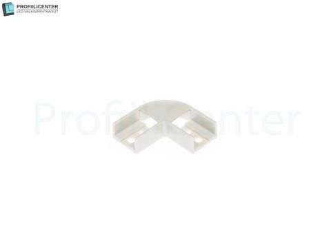 Alumiiniprofiilin ALU01 kulmapala (muovi)
