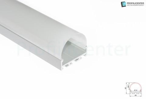 LED-alumiiniprofiili ALU017, 2 m