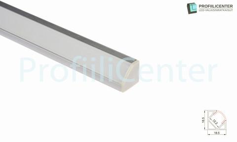 LED-alumiiniprofiili ALU04, 2 m