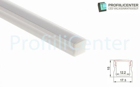 LED-alumiiniprofiili ALU05, 2 m
