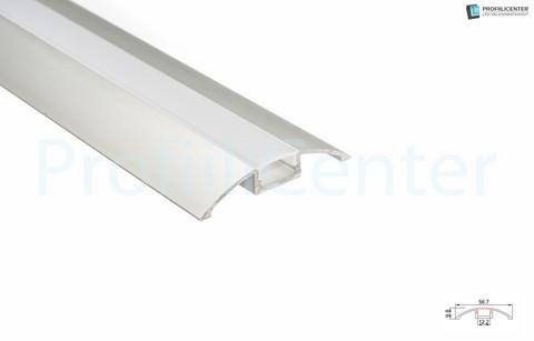 LED-alumiiniprofiili ALU06, 2 m