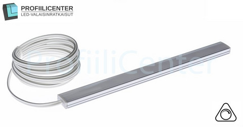 LED-valolista 50 cm, 9.6 W / m