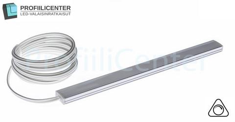 LED-valolista 200 cm, 9.6 W / m