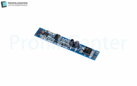 LED-kytkin IR-tunnistimella alumiiniprofiiliin