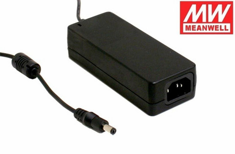 Mean Well LED Virtalähde 24VDC 60W pistokkeella