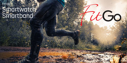 FitGo FW17 älykello, punainen