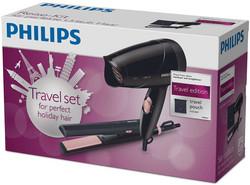Philips HP8644 Limited Edition matkapakkaus hiustenkuivaaja ja suoristin
