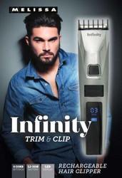 Melissa Infinity trimmeri LED-näytöllä