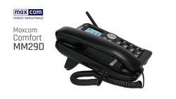 Maxcom MM29D 3G johdoton pöytäpuhelin, joka toimii SIM-kortilla UUTTA 06/2021!