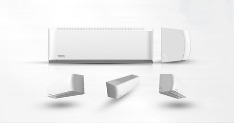 Ilmalämpöpumppu Vivax Y-design 12 lämmityskäyttöön