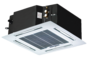 Puhallinkonvektori Kattokasetti 4-way, 2-putkinen CH-FC030K2 + paneeli Lämmitys / jäähdytyskäyttöön (2 putkea) Teho 3,00 / 4,00 kW
