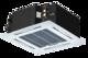 Puhallinkonvektori Kattokasetti 4-way sis. paneeli 4,50 / 6,00 kW