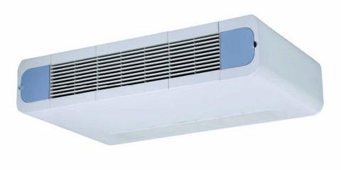 Puhallinkonvektori Lattiamalli / Kattopintamalli. 2-putkinen CH-FFC025K2 jäähdytys / lämmityskäyttöön Teho 2,53 / 3,49 kW