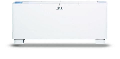 Puhallinkonvektori Lattiamalli / Kattopintamalli. 2-putkinen CH-FFC090K2 jäähdytys / lämmityskäyttöön Teho 7,85 / 11,69 kW