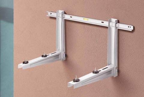 Seinäteline MS230 lämpöpumpun asennukseen L800xW420 mm, 140kg