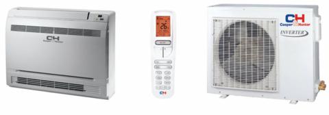 Ilmalämpöpumppu, Lattiamallinen 12, C&H lämmitys- ja jäähdytyskäyttöön