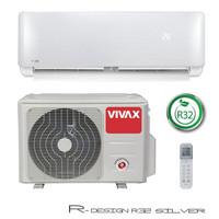Ilmalämpöpumppu Vivax R-DESIGN 3,81kW, Hopea