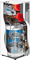 Kaasukondenssikattila Atlantic Perfisol Hybrid DUO 5024 VI R