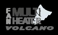 Volcano VR-D EC puhallinkonvektori lämmitykseen ja jäähdytykseen
