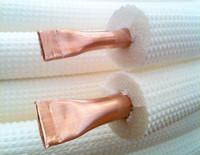 Kuparikieppi 1/4*0.8 mm + 3/8*0.8 mm, 20 m rulla, 9 mm eriste