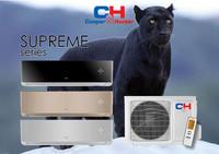 Ilmalämpöpumppu Cooper&Hunter Supreme 24 MUSTA lämmitys- ja jäähdytyskäyttöön R32 kylmäaineella