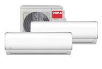 Vivax ilmalämpöpumppu 2 sisäyksiköllä M-malli, 4,9 kW