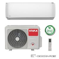 Ilmalämpöpumppu Vivax E+ Design max. 6,5 kW, Valkoinen