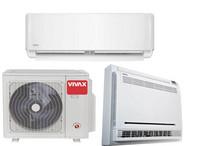 Vivax ilmalämpöpumppu 2 sisäyksiköllä 1 lattia- ja 1 seinämalli 6,1 kW