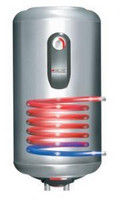 Lämminvesivaraaja ELCO Titan 120 l vaakamalli kierukalla (saunamalli)
