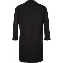 Musta pitkä kevyt jakku