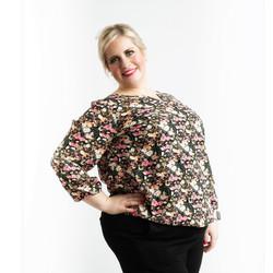 Zhenzi paita kukkakuviolla