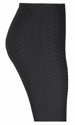 Zhenzi leggings kohokuviolla (musta)