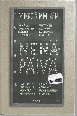 Rimminen, Mikko: Nenäpäivä