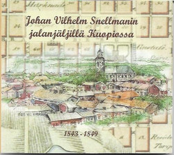 Vuorikari, Outi et.al.: Johan Vilhelm Snellmanin jalanjäljillä Kuopiossa 1843-1849